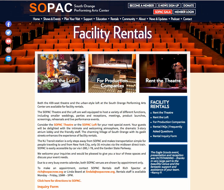 SOPAC-Facility Rentals